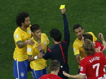 Neymar apercibido de sanción (foto: http://www.espanol.rfi.fr)