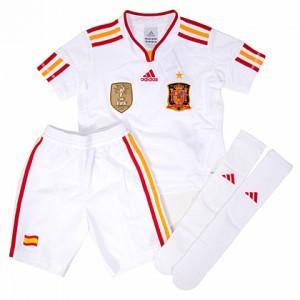 Equipación Blanca (foto: www.futbolshop.com)