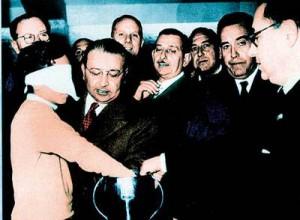 Franco Gemma, en el sorteo que dejó a España fuera de Suiza 54. (Foto: AS)