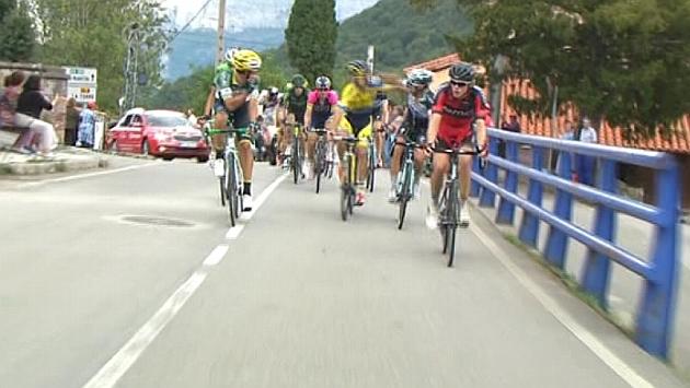 Pelea entre Brambilla y Rovny (foto: www.marca.com)