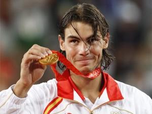 Nadal, medalla de oro en los Juegos de Pekín 2008 (Foto: Marca.com)