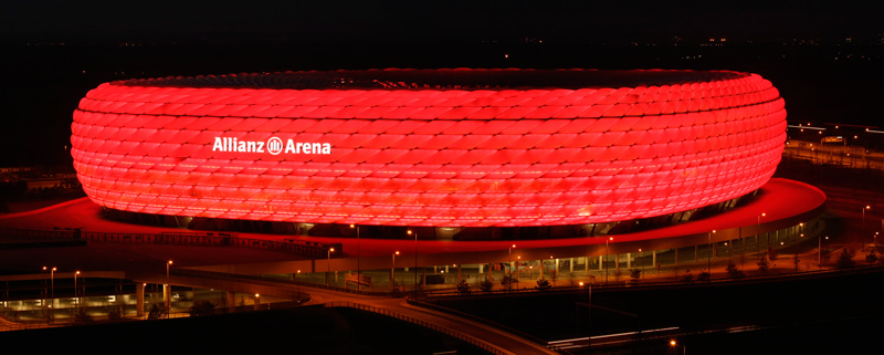 Estadio Allianz Arena en Múnich.